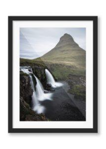 Kirkjufellfoss' Framed Print