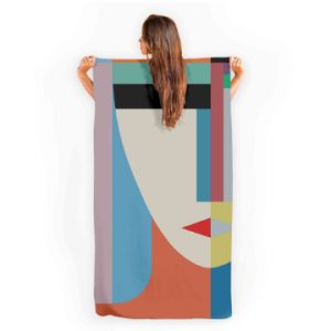 'Absolute Face' Towel