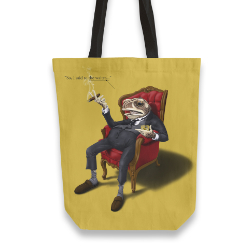 'Fly In My Soup' Tote Bag