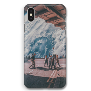 The space phone case by nak bali