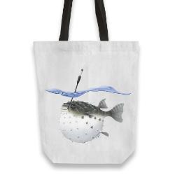 'Take It Outside' Tote Bag
