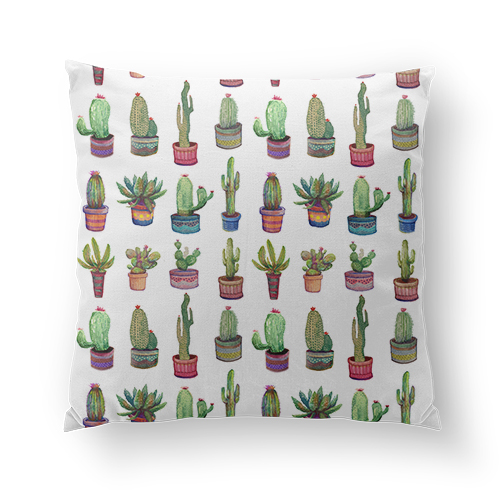 'Cactus Pocket' Pillow
