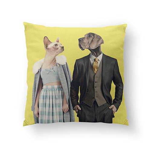 'Couple' Pillow
